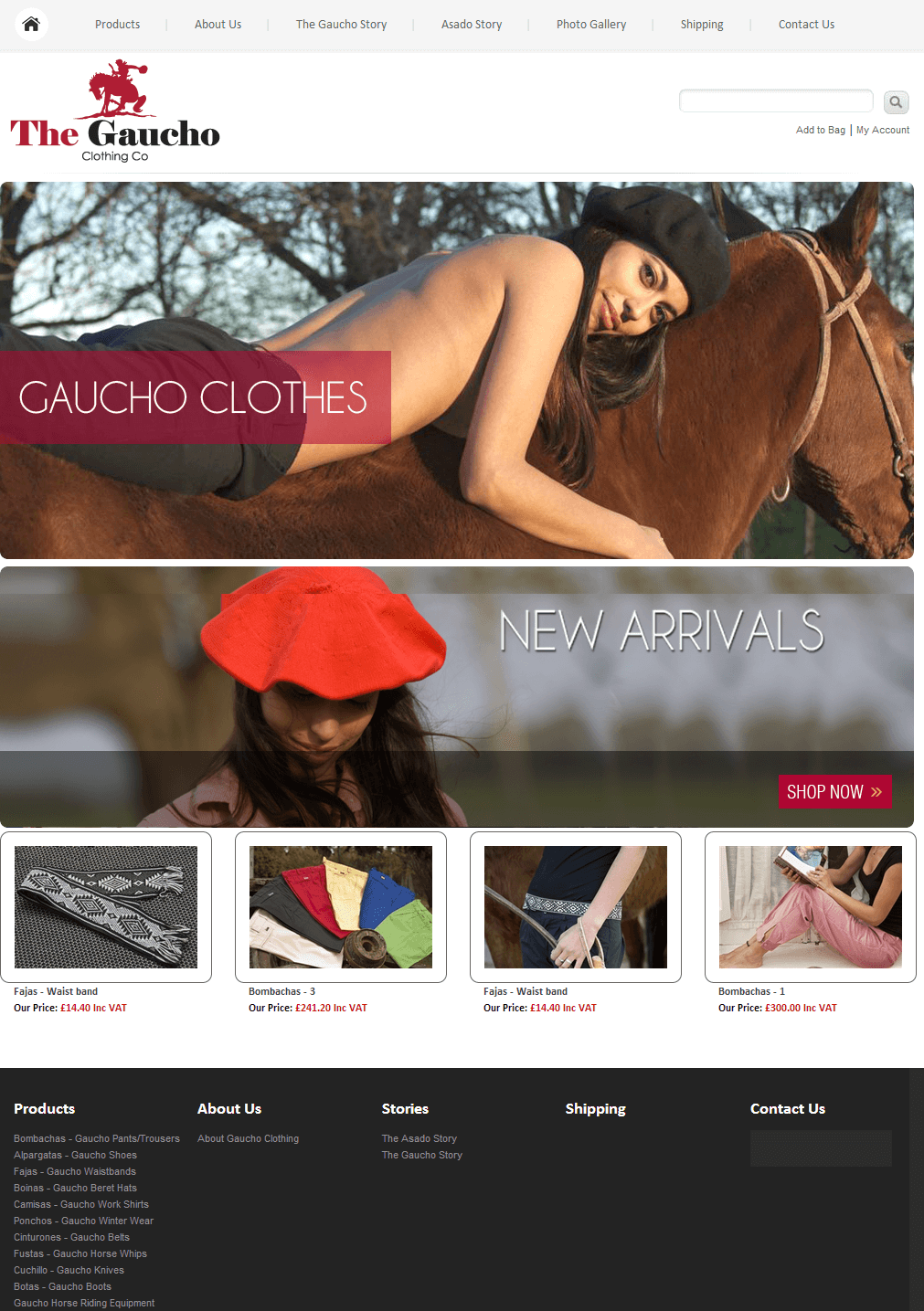 Gaucho Clothing