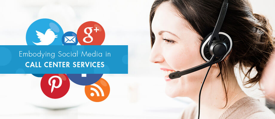 Social-media-in-call-center-services