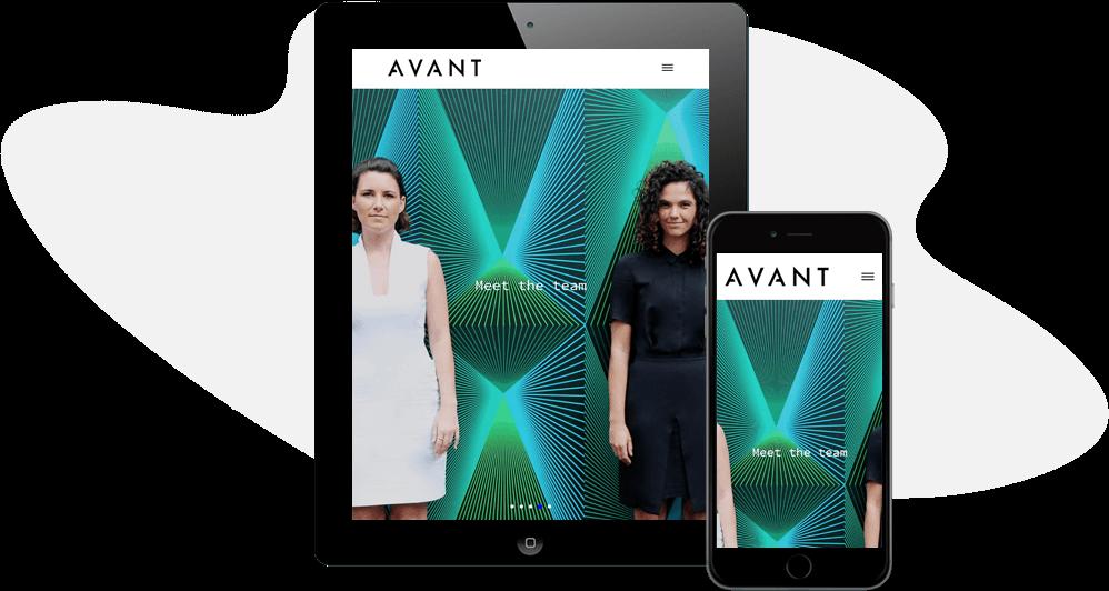 Avant Agency iPad