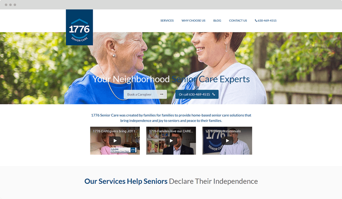 Senior Care Web