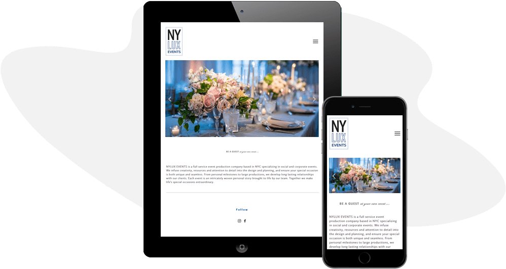 NY Lux Events Responsive