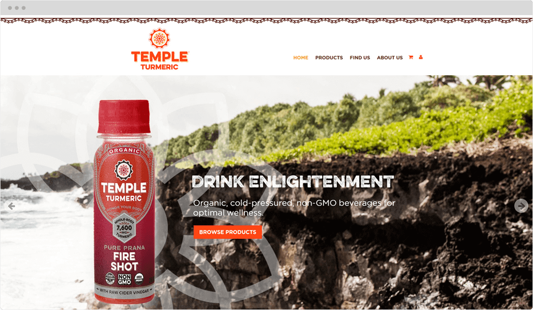 Temple Turmeric Desktop